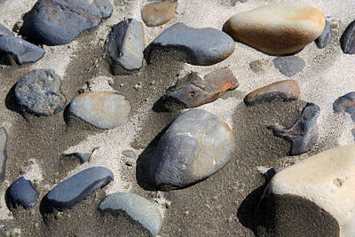 Art Print featuring the photograph Beach Rocks 3 by Joanne Coyle