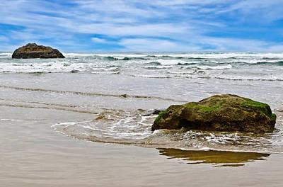 Photograph - Beach Rocks by Athena Mckinzie