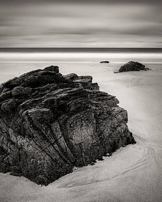 Photograph - Beach Rocks by Dave Bowman