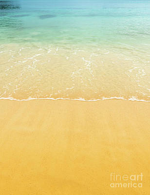 Photograph - Beach Sand Background by Tim Hester