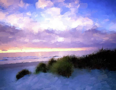 Painting - Beach Sawgrass by Gary Grayson