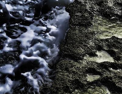 Abstract Photograph - Beach Scene 18 by Kristalin Davis