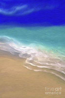 Painting - Beach Scene 7- Panel 1 by Mark Lawrence