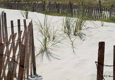 Beach Scene Art Print by Dennis Stein
