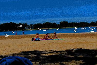 Photograph - Beach Scene From Ere-4 by Anand Swaroop Manchiraju