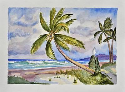 Beach Scene I Original