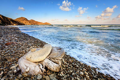 Photograph - Beach Scene In British Virgin Islands by Alexey Stiop