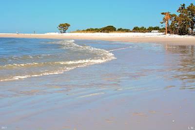 Photograph - Beach Scene by Lisa Wooten