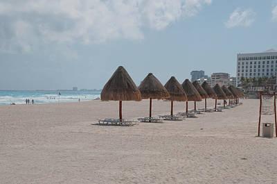 Digital Art - Beach Scenes In Cancun  by Carol Ailles