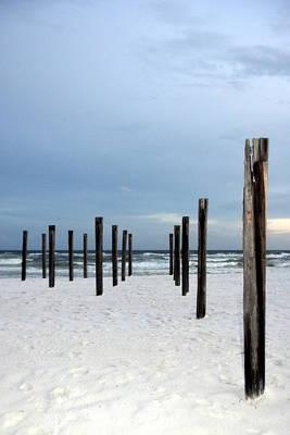 Photograph - Beach Sentinels by Carla Parris