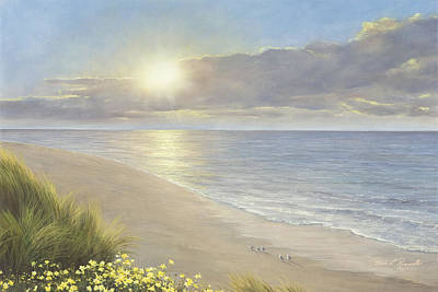 Seagrass Painting - Beach Serenity by Diane Romanello
