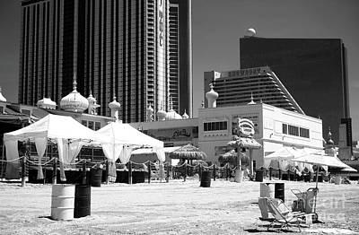 Photograph - Beach Setup by John Rizzuto