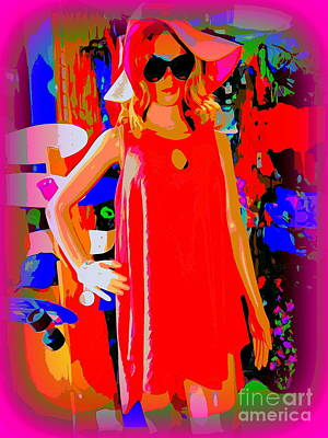 Digital Art - Beach Shop Barb by Ed Weidman