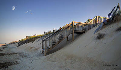 Beach Side - Obx Art Print by Brian Wallace