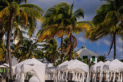 Beach Photograph - Beach Side Of The Grand Lucayan by Zina Stromberg