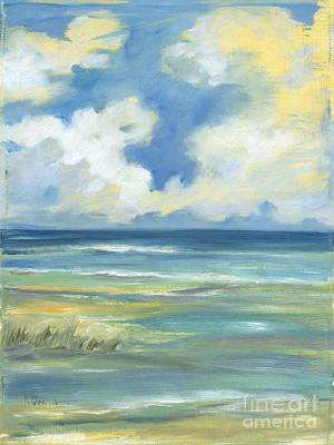 Beach Simplicity Art Print by Paul Brent