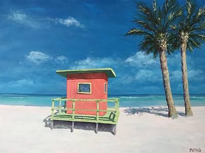 Painting - Beach Solitude by Paul Emig