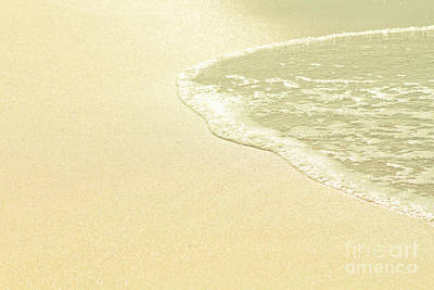 Photograph - Beach Sparkling Golden Sand by Sharon Mau