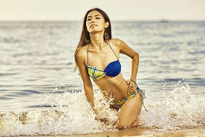 Travel - Beach Splash by Lucky Chen