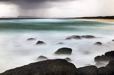 Photograph - Beach Squall by Nicholas Blackwell