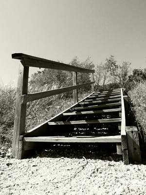 Photograph - Beach Steps by Kyle J West