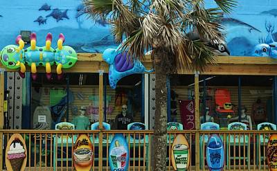 Photograph - Beach Storefront by Christopher James