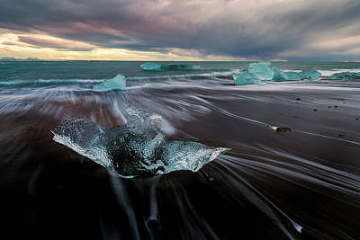 Photograph - Beach Stranded by Allen Biedrzycki