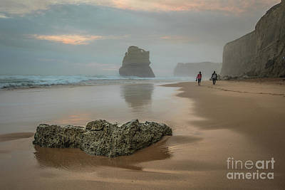 Photograph - Beach Stroll by Howard Ferrier