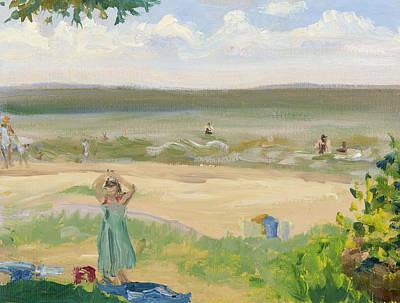 Wall Art - Painting - Beach Study by Katherine Farrell