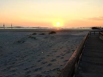 Photograph - Beach Sunrise by Andy Matthias
