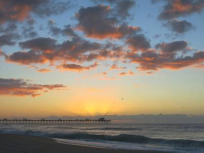 Photograph - Beach Sunrise by Betty Buller Whitehead