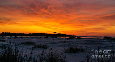Photograph - Beach Sunrise Cherry Grove Point by David Smith