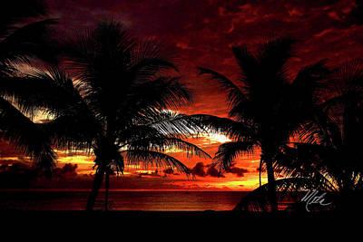 Photograph - Beach Sunrise by Meta Gatschenberger