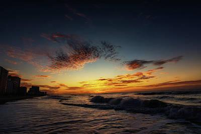 Photograph - Beach Sunrise by Steve Hurt