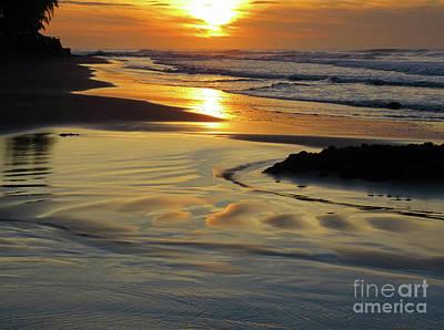 Wall Art - Photograph - Beach Sunrise by Tracy Farrand