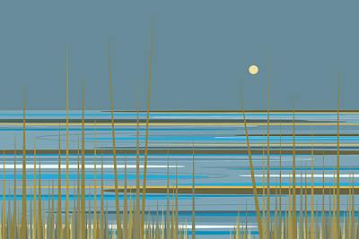 Digital Art - Beach Sunrise by Val Arie