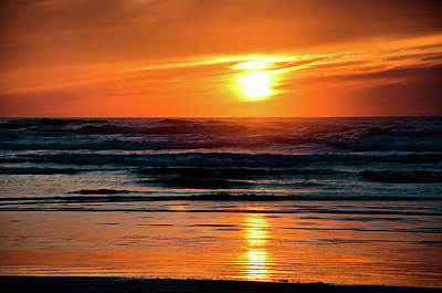 Photograph - Beach Sunset by Bryan Carter