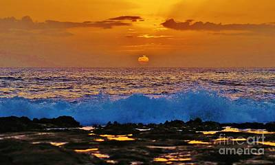Photograph - Beach Sunset by Craig Wood