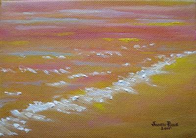 Painting - Beach Sunset by Judith Rhue