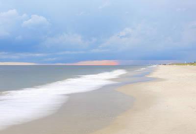 Kids Alphabet - Beach Sunset by Nick Noble