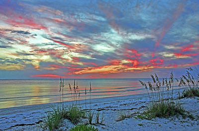 Photograph - Beach Sunset On The Gulf by HH Photography of Florida
