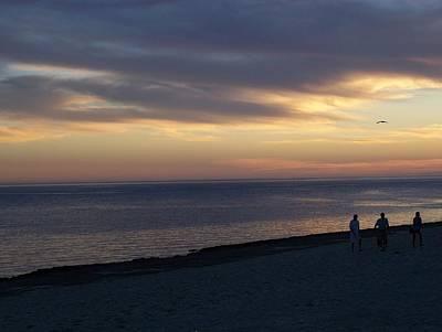 Photograph - Beach Sunset by Pamela Walrath
