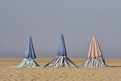 Beach Tents Art Print