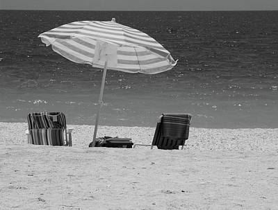 Photograph - Beach Time Is Here by Florene Welebny