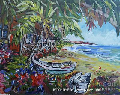 Painting - Beach Time by Joseph Mora