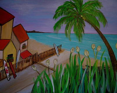 Painting - Beach Time by Pristine Cartera Turkus