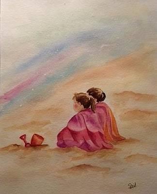 Painting - Beach Time by Stephanie Reid