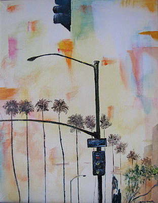 Painting - Beach Traffic - Sold by Gary Smith