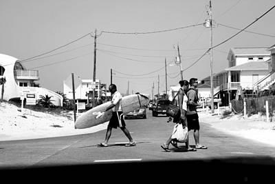 Panama City Beach Photograph - Beach Traffic by Toni Hopper