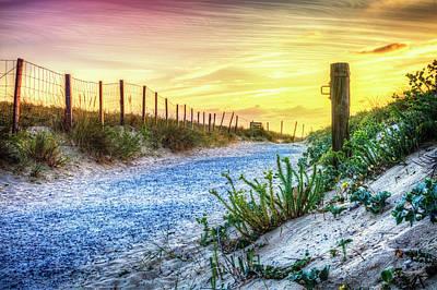 Photograph - Beach Trail by Debra and Dave Vanderlaan